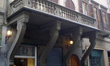 Il balcone alla rovescia