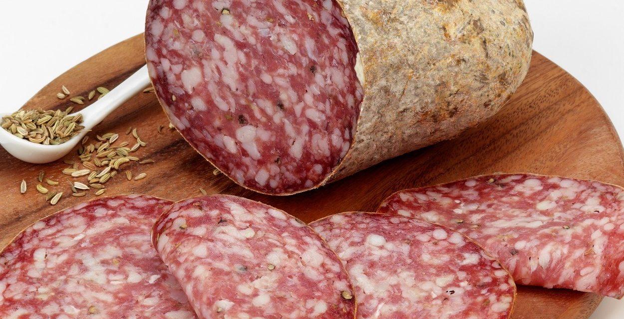 Toscana. Arte sotto il cielo ed in cucina. La finocchiona