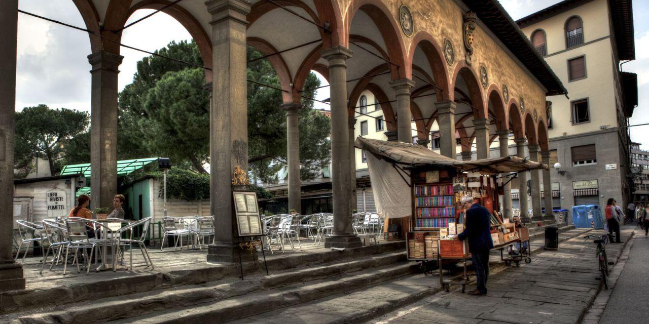 Cronache di storie fiorentine. La colonna di Piazza dei Ciompi